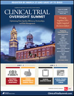 Clinical Trial Oversight Summit Brochure Icon